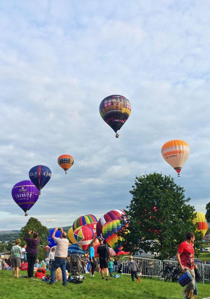 Ballongflygning tar dig till nya höjder